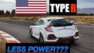 Why 2018 Honda Civic Type R Has Less Power In America - Inside Lane