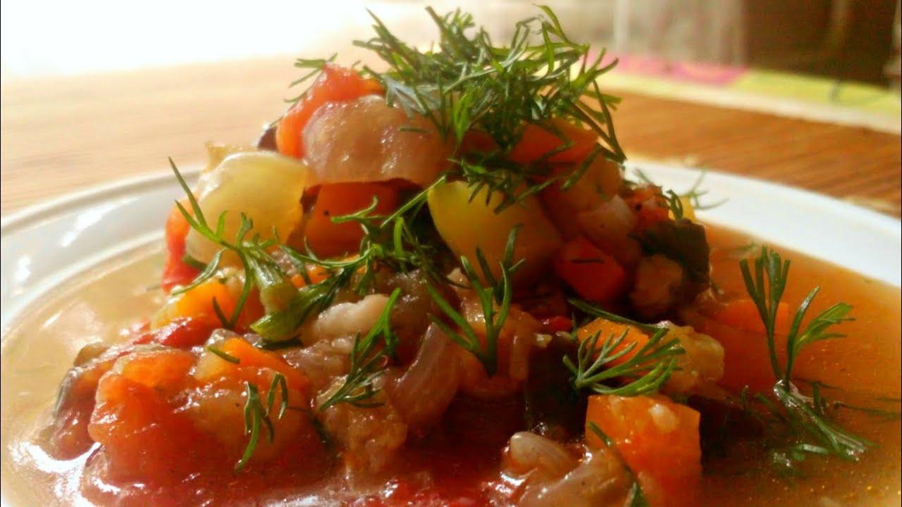 соте из баклажан рецепт в скороварке