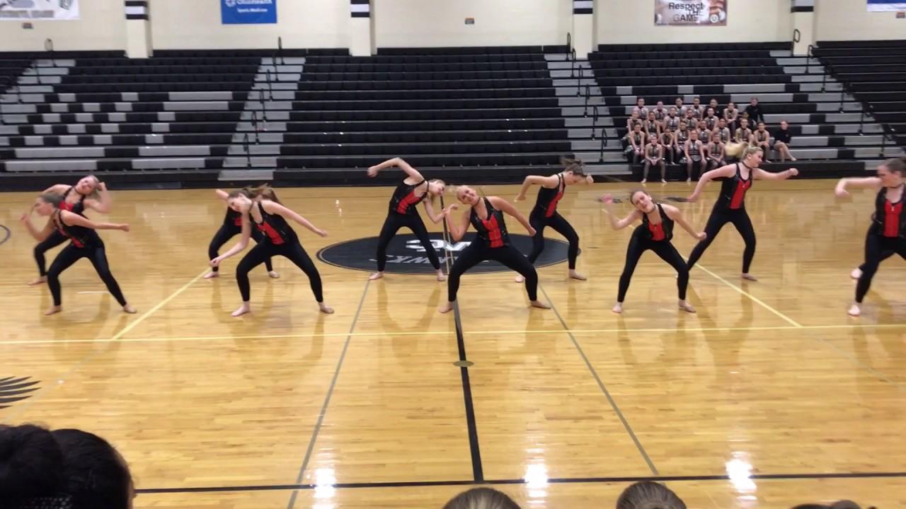 Russell High School Dance Team Jazz - YouTube