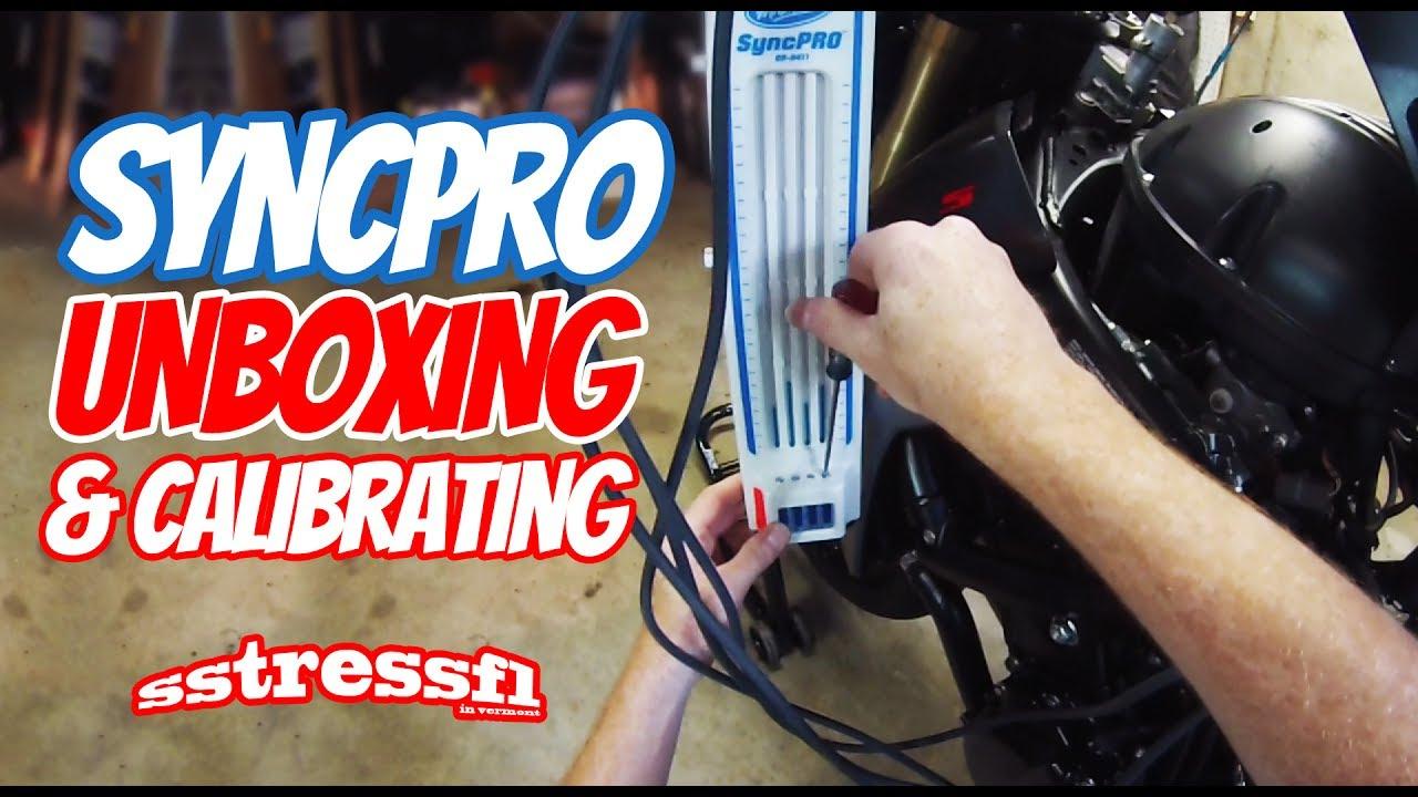 Motion Pro SyncPro Unboxing & Calibration | Sync Throttle Bodies | Suzuki  GSX-S750