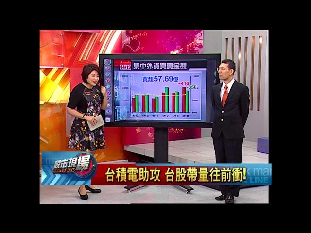 【股市現場-非凡商業台鄭明娟主持】20180419part.1(劉坤錫×黃靖哲)