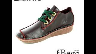 Clarks Funny Dream D Fit Aubergine