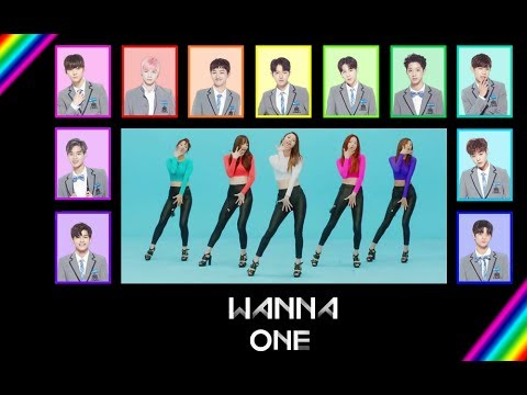 How would WANNA ONE (워너원) sing EXID - Up & Down