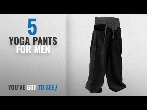 Top 10 Yoga Pants For Men [2018]: MEMITR 2 Tone ThaiFisherman PantsYoga Trousers Free Size Cotton
