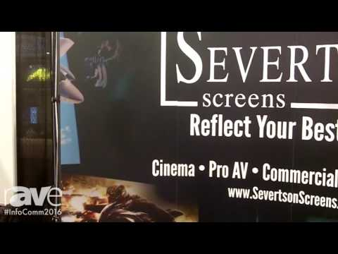 InfoComm 2016: Severtson Screens Features Acoustically Transparent Thin Bezel