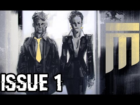 Outlast Comic Book Issue #1 (Readed) | The Financial Story
