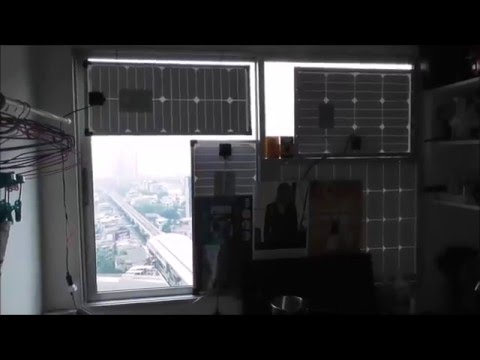 solar panel windows home condominum 2016