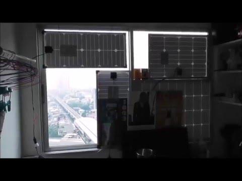solar panel windows home 2016