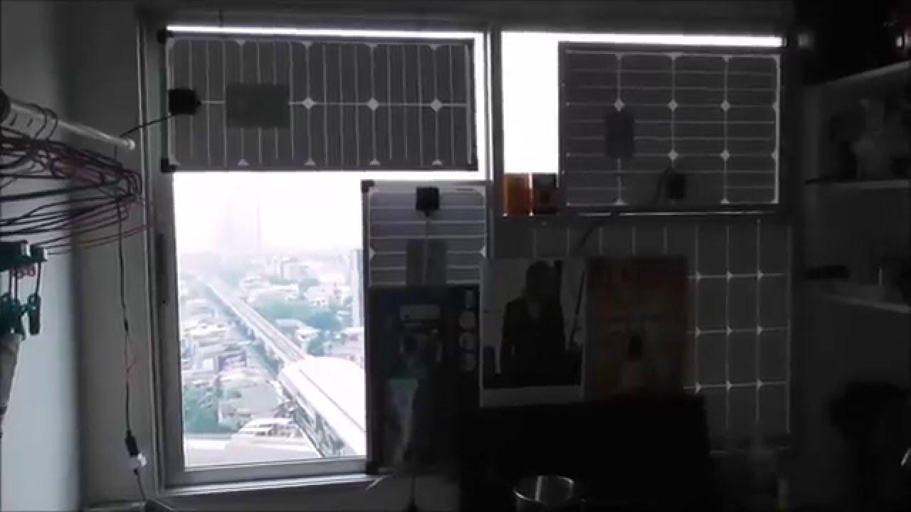 Solar Panel Windows Home Condominum 2016 Youtube