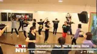 Temptations - Papa Was A Rolling Stone cover dance choreography by NYDANCE