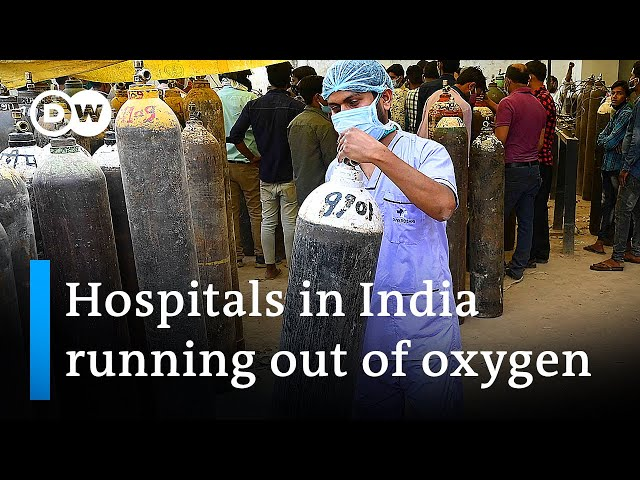 India's hospitals locked in desperate fight against COVID-19 | DW News