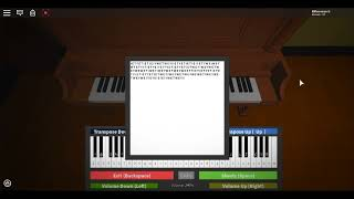 Roblox Piano || Don't Go - FNAF 3 Good Ending