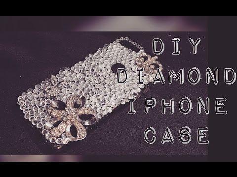DIY DIAMOND 💎 IPHONE CASE