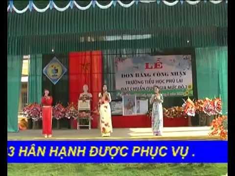 Bài ca cô giáo trẻ - Tam ca Trường Tiểu học Phú Lai