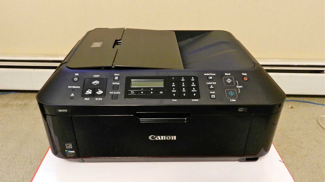 Canon PIXMA MX410 Scanner Windows 7