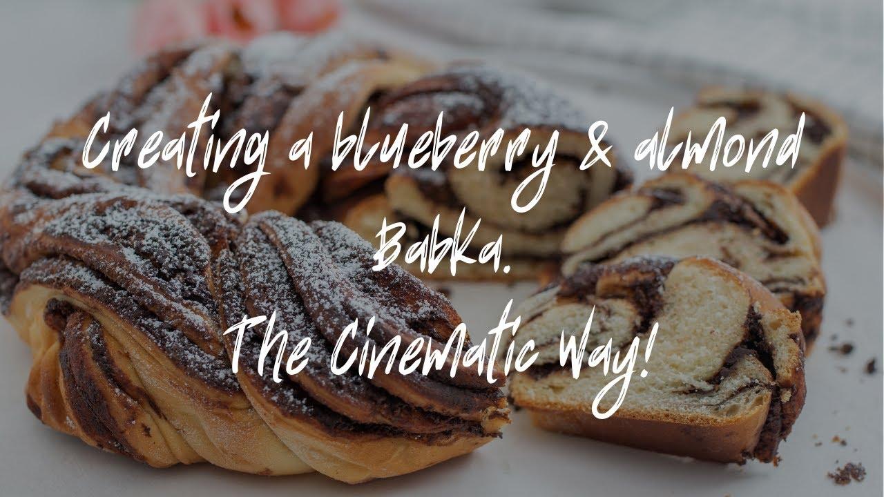 EPIC B ROLL RONIN SC & HANDHELD - Cinematic Blueberry & Almond Babka Cake