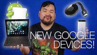 Google Press Event Round Up - New Nexus Devices and More!
