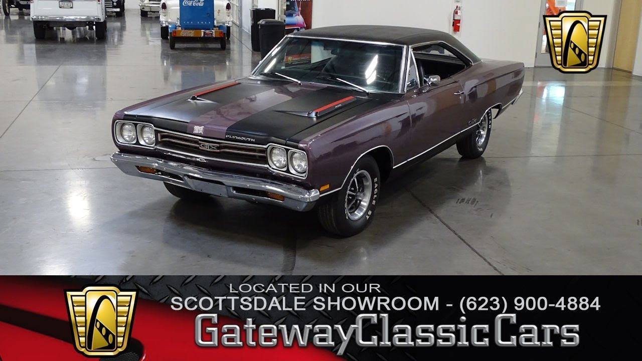 1969 Plymouth Gtx 440 Gateway Classic Cars Scottsdale 394