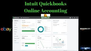 How to Use. Quickbooks Online Accounting. Small business, Ebay Amazon
