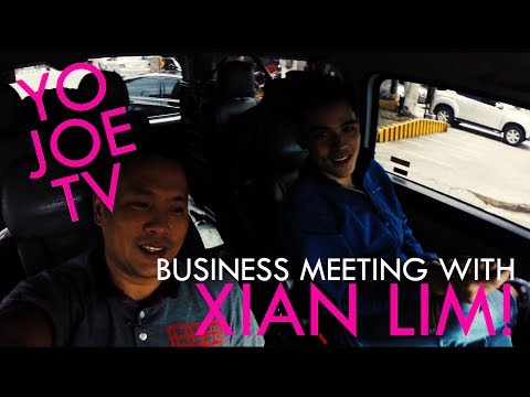 YOJOETV! V2  : Business Meeting With Xian Lim!
