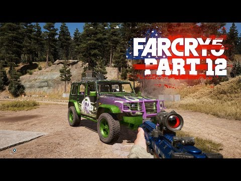 DEATH WISH JEEP - Far Cry 5 - Part 12 (Let's Play / Walkthrough / PS4 Pro Gameplay)