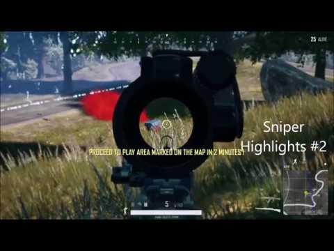 Sniper Highlights #2 PUBG Xbox One