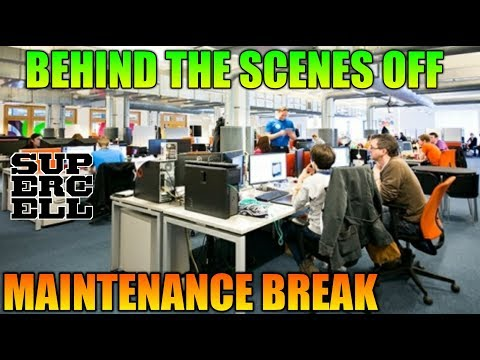 BEHIND THE SCENES OF MAINTENANCE BREAK | HOW COC GIVE US NEW UPDATE ?