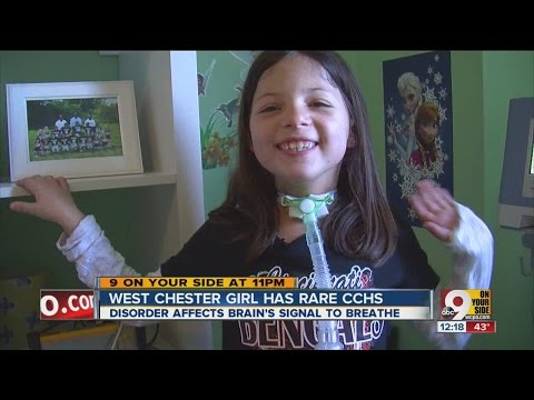 West Chester 8-year-old wants cure for CCHS, rare condition that makes her breathing not automatic