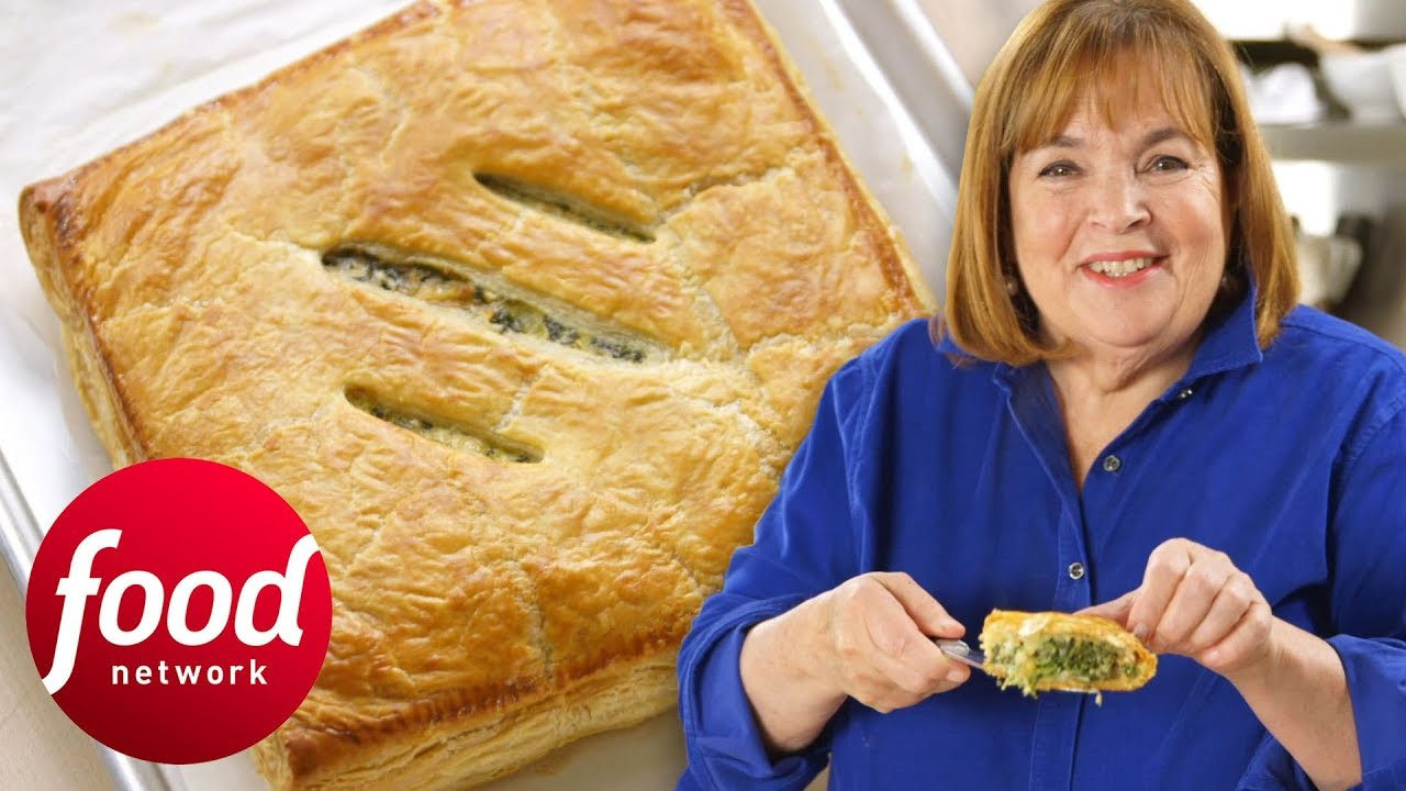 Easy Spinach Puff Pastry