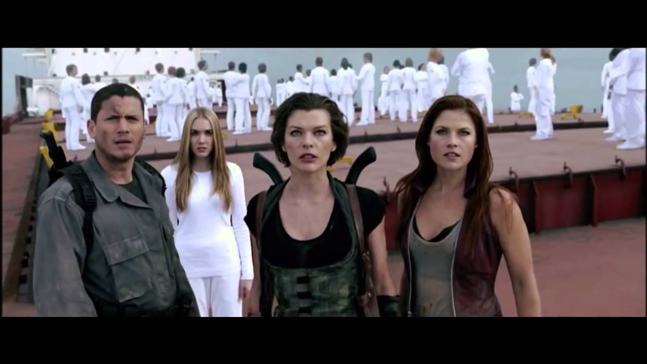 Resident Evil Afterlife Ending Scene Youtube