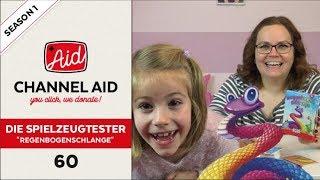 Regenbogenschlange feat. Die Spielzeugtester | Channel Aid | S1 Ep60