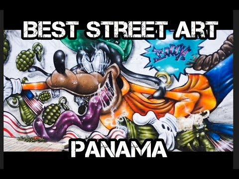 Best Street Art of Panama City - Mejor Arte Callejero Panamá Cuidad 2018