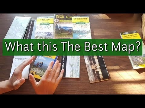 Best Trail Map For Backpacking - Different Types Of Hiking Guides