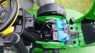Tuning traktor PegPerego 18V