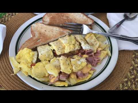 Pammy's For Breakfast in Eleuthera, Bahamas