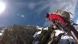 Breithorn (4164m) - North Face - Triftjigrat - Mountaineering - [HD]