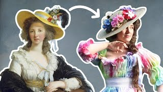 I tie-dyed an 18th century dress (Bonus: How to sew a Chemise a la Reine!)