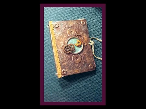 Journal with  Foil Cover and Loose Leaf Binding
