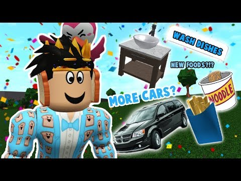 Huge Bloxburg Map Update New Cars Locations Roblox More New Future Bloxburg Updates I Want To See In 2020 Car Customization Wash Dishes And Fries Youtube