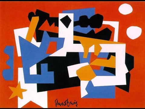 Stuart Davis _  American, 1892–1964 Pop Art cubism 斯图尔特·戴维斯