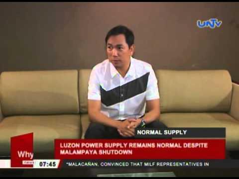 Luzon power supply remains normal despite Malampaya shutdown