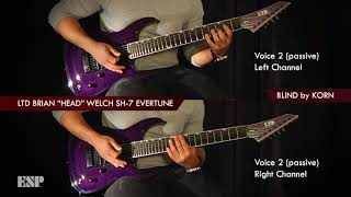 "ESP Guitars: Ken Susi Plays Brian ""Head"" Welch"
