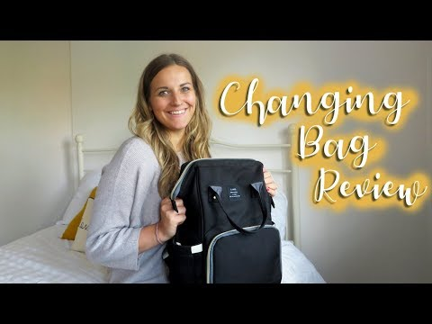 CHANGING BAG REVIEW | BEST CHANGING BAG EVER!