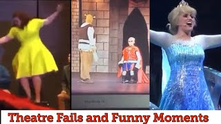 BEST THEATRE FAILS, FALLS, MISHAPS, BLOOPERS, COMPILATION