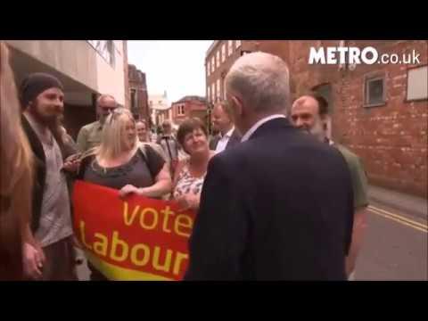 Jeremy Corbyn's Lincoln visit