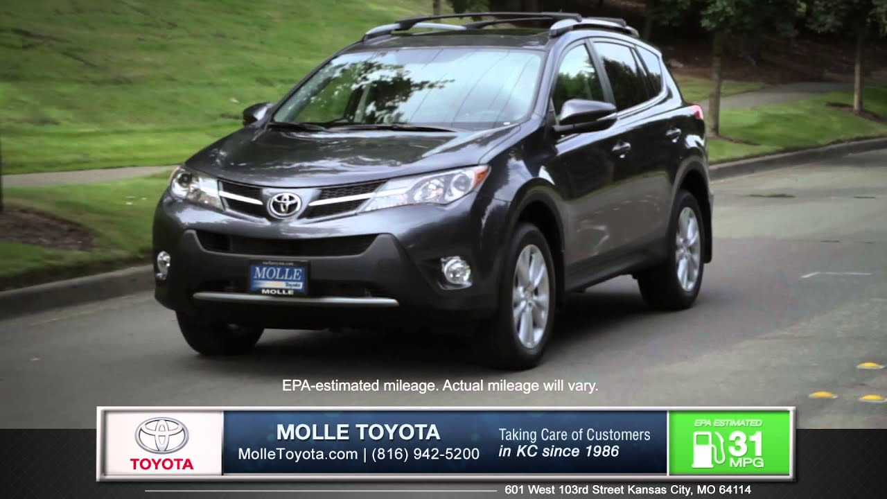Superior 2015 Toyota RAV4 Walk Around   Kansas City, MO | Molle Toyota