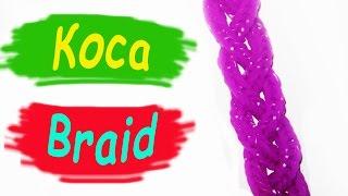 Rainbow Loom Bands. Браслет из резинок. Толстая коса. Лучшее видео / Bracelet gum. Heavy Spit