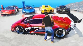 GTA 5: Stealing Suṗer Cars with Franklin #24 (GTA V Collecting Most Expensive Cars)