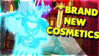 *NEW* ICE KING ARMOR, WEP COSMETIC UPDATE AND MORE! (ROBLOX DUNGEON QUEST)