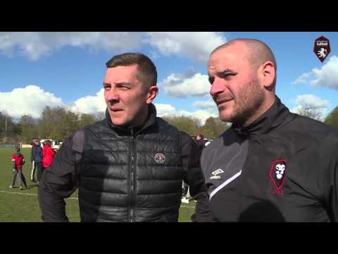 Salford City 3-2 Workington AFC - Jonno & Bern post-match interview